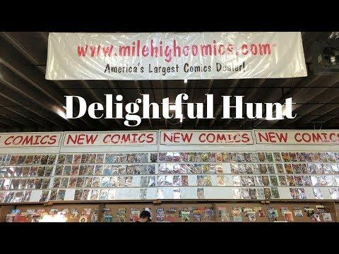 Mile High Comics in Denver Delightful Toy Hunt
