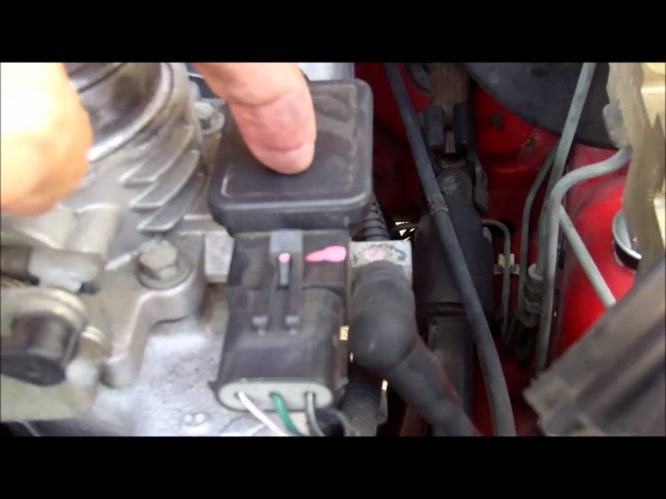 96 Jeep Cherokee MAP Sensor - YouTube