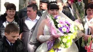 Свадебный клип в лимузине! ЗАГС-Регистрация