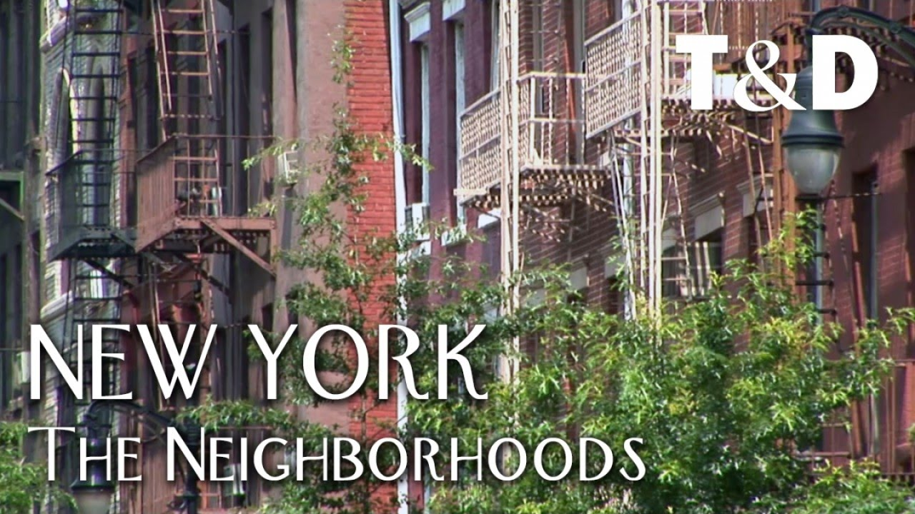 New York City Guide The Neighborhoods Travel Discover Youtube