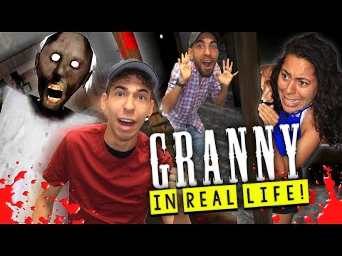 Granny Horror Game in Real Life! (Granny's REVENGE!)