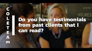 Questions You Should Ask Your Agent Before You Hire Them: Testimonials