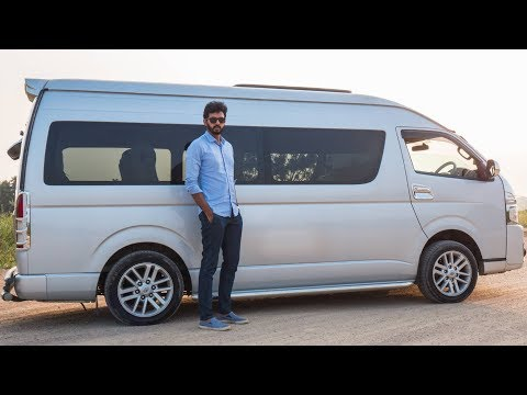 Toyota Hiace - Oversized MPV - Feels Like A House!