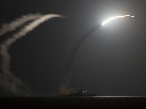 U.S  Launches 59 Tomahawk Missiles at Syrian Base After Chemical Weapons Attack