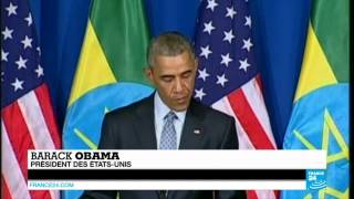 Barack Obama en Afrique - Première visite d'un président américain en Éthiopie