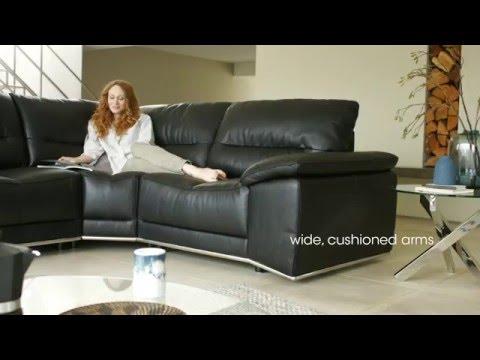 Leather Modular Corner Sofa - Cocoon | Furniture Village