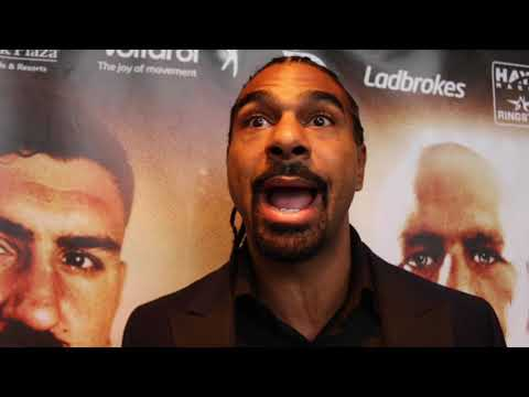 DAVID HAYE UNCUT! - ON BELLEW / WARD, INCREASED CHISORA OFFER, JOYCE, WILDER BEATING ORTIZ, JOSHUA