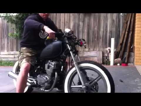 Honda Cb250 Rat Bobber Youtube