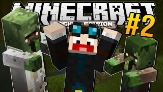 minecraft pocket edition   crazy new zombies   2