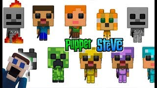 Minecraft Funko Pop Action Figures Set Exclusive News 2018 Toys Steve Skeleton Walmart Target