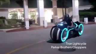 мотоцикл из фильма Трон