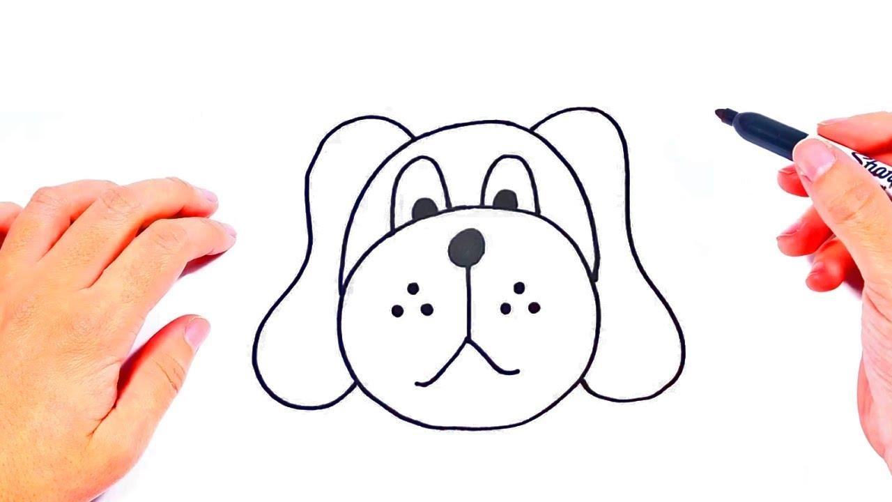 Cómo Dibujar Un Perro Paso A Paso Dibujos Para Niños Pequeños