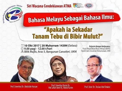 Bahasa Melayu Sebagai Bahasa Ilmu: Apakah Ia Sekadar Tanam Tebu Di Bibir Mulut?
