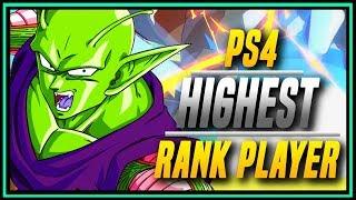 DBFZ ➤ Leaderboard PS4 Online King HookGangGod [ Dragon Ball FighterZ ]