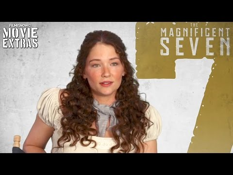 The Magnificent Seven  Onset visit with Haley Bennett