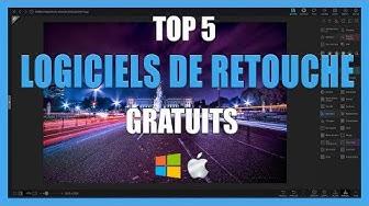 TOP 5 Meilleurs logiciels de Retouche Photo Gratuits - [TUTO-PHOTOS]