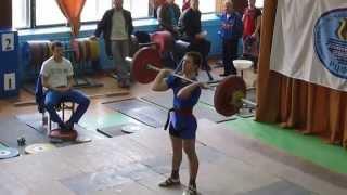 My weighlifting beginning 74 kg + 90 kg BW - 60 kg (12.10.2012)