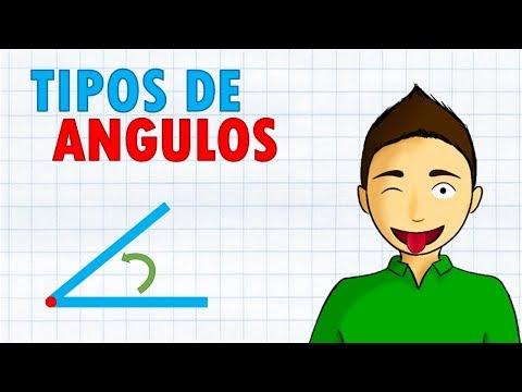 TIPOS DE ÁNGULOS Super facil   Para principiantes