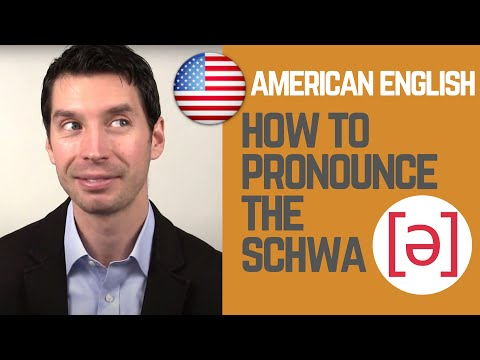 How To Pronounce The Schwa /ə/ Sound   American English Pronunciation