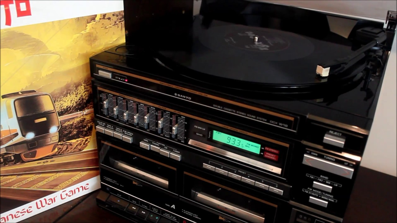 My 1980s SANYO Compact Stereo ( Review & Sound Test ) by