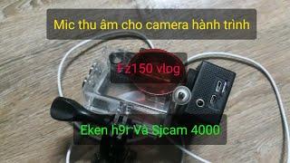 Micro thu âm camera eken h9r và sj cam 4000 (Mic độ) NTN