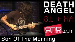 "Death Angel plays ""Son Of The Morning"" live on EMGtv!"