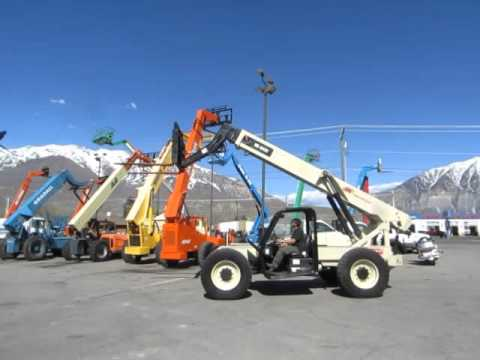 SOLD: Telescopic Forklift 2005 Ingersoll Rand VR843C 4x4x4 8,000 ...