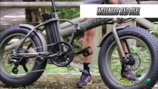 Электровелосипед Wellness Bad Dual Тест драйв