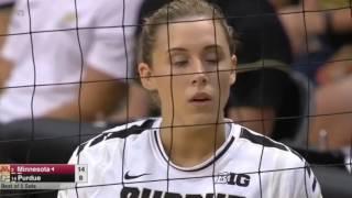 NCAA Volleyball 2016   #2 Minnesota vs #14 Purdue