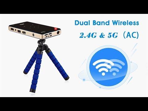 H96P - Amlogic S905X Quad Core DLP(Digital Light Processing)  Mini Projector