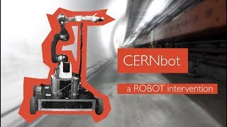 CERNbot, a robot intervention