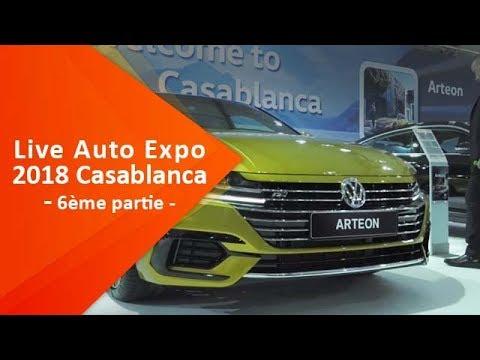 Live du Salon Auto Expo 2018 à Casablanca ( 6ème partie)