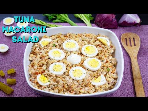 Delicious Tuna Macaroni Salad Recipe: How To Make THE BEST Tuna Macaroni Salad