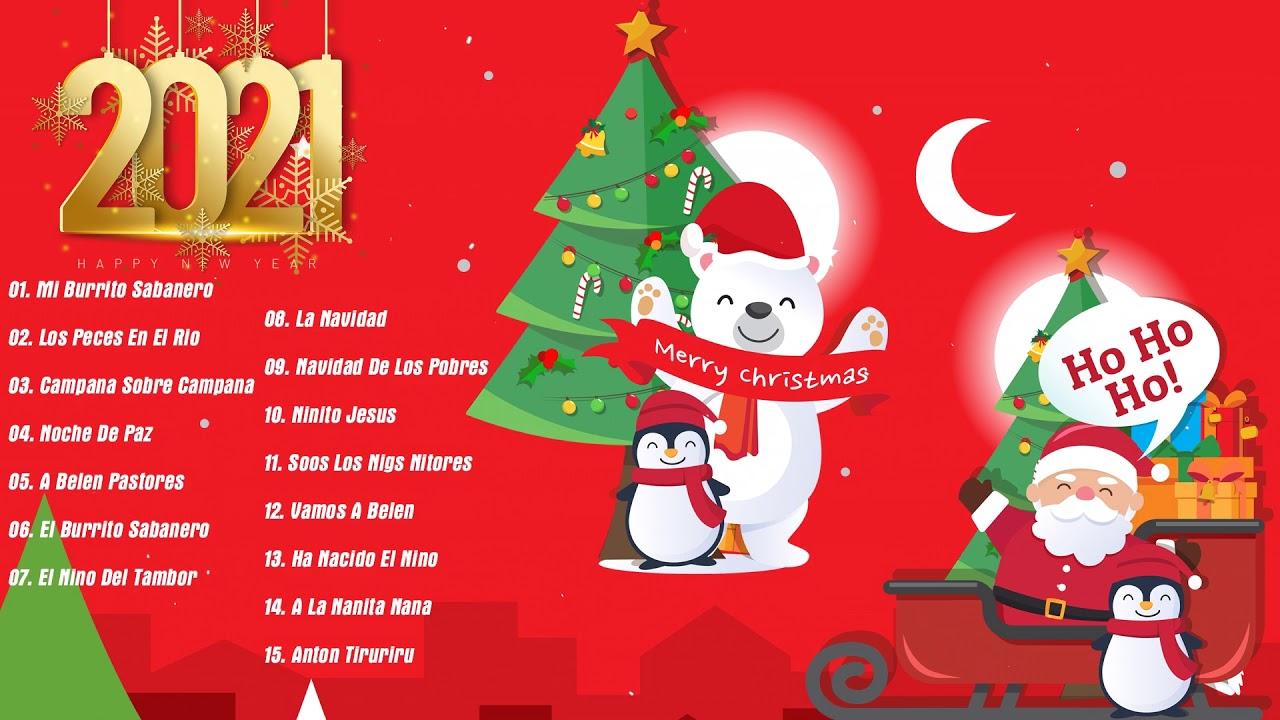 Villancicos De Navidad Clásicos🎄Feliz Navidad 2021🎅Las 30 Mejores Canciones Navideñas En Inglés