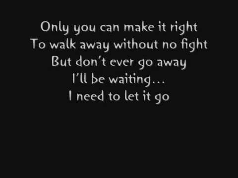 Let It Go by Cavo Lyrics