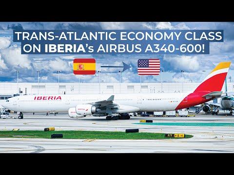 TRIPREPORT | Iberia (ECONOMY) | Airbus A340-600 | Madrid - New York John F. Kennedy