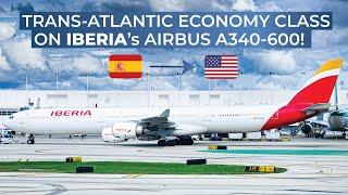 TRIPREPORT   Iberia (ECONOMY)   Airbus A340-600   Madrid - New York John F. Kennedy