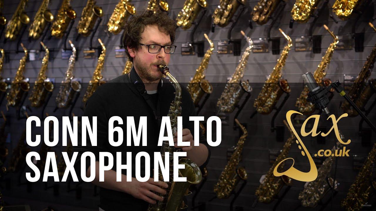 Conn 6M Alto Saxophone - 1958