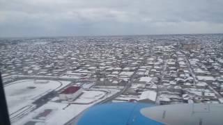 Посадка в Баку