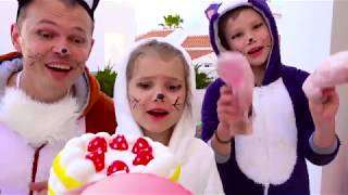 Kids songs with Katy and family