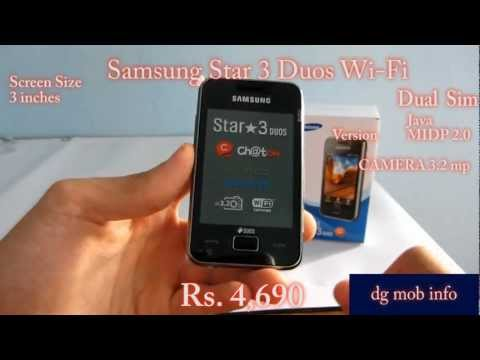 Samsung Star 3 Duos Wi-Fi Review In Hindi