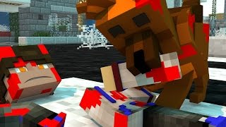 РЕБЁНКА СОЖРАЛ СКУБИ ДУ В МАЙНКРАФТЕ! СКУБИ ДУ В MINECRAFT! SCOOBY DOO IN MINECRAFT