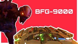 Primer uso del BFG-9000 - DOOM (2016)