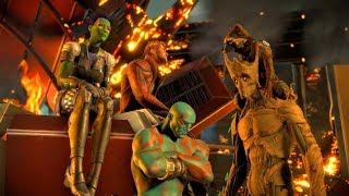 Guardians Final Battle and Game Ending (Guardians of the Galaxy | Telltale Games)