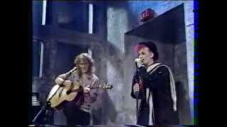 Culture Club. Karma Chameleon (Acoustic Mix) (Live French TV 1984)