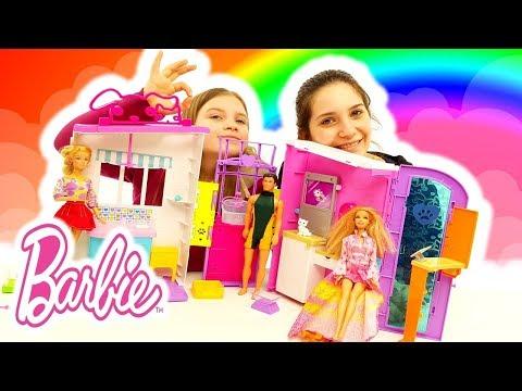 Casa Dei Sogni Di Barbie: Studio Veterinario Pet Care - Curiamo I Cuccioli Con Le Bambole Dottoresse