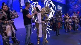Awards Ceremony BLIZZARD Cosplay  COSTUME CONTEST at Gamescon 2017