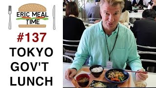 Tokyo Office Worker's Lunch - Eric Meal Time #137