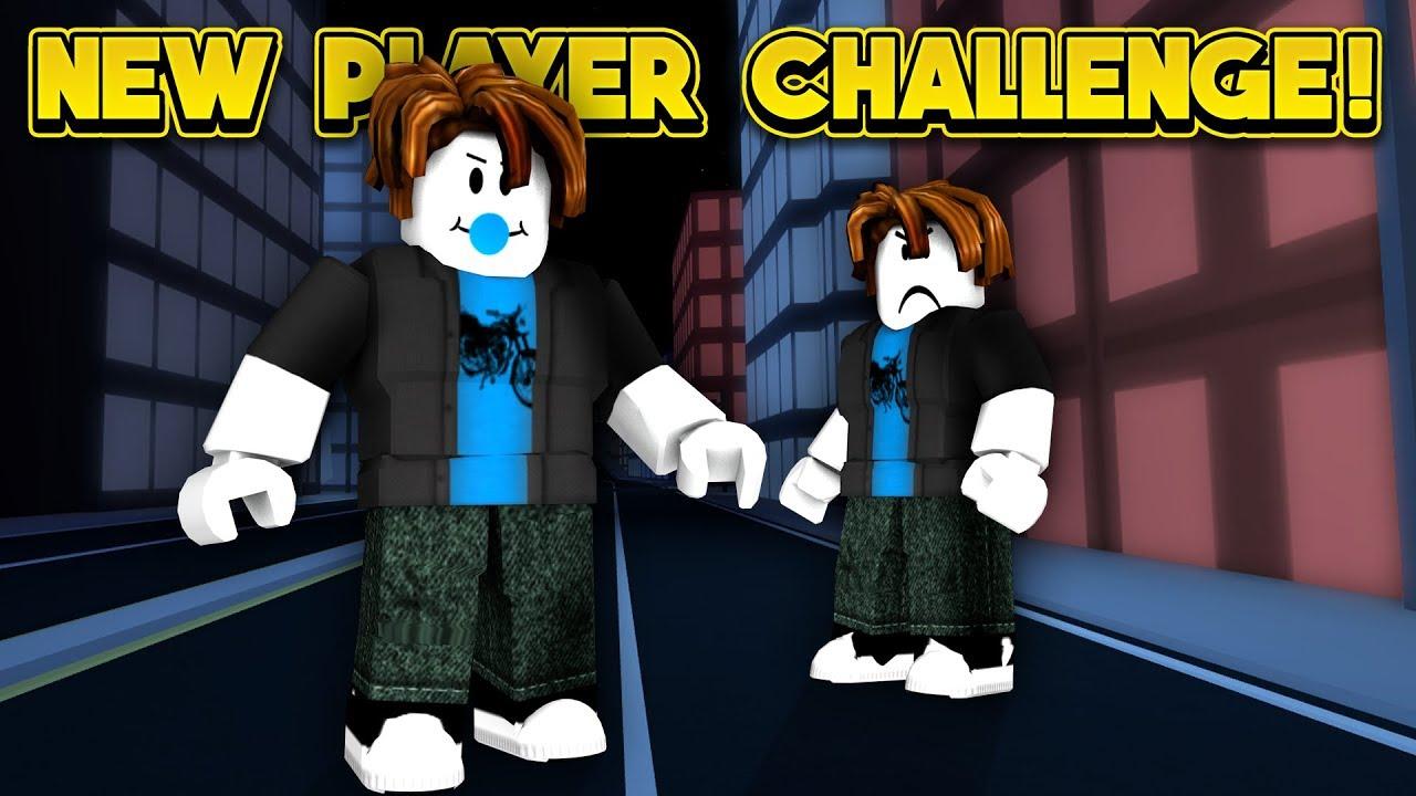 new player challenge roblox jailbreak youtube