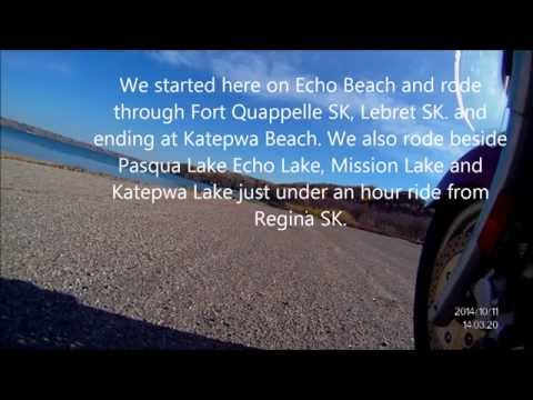 October Ride from Echo Lake to Katepwa Beach